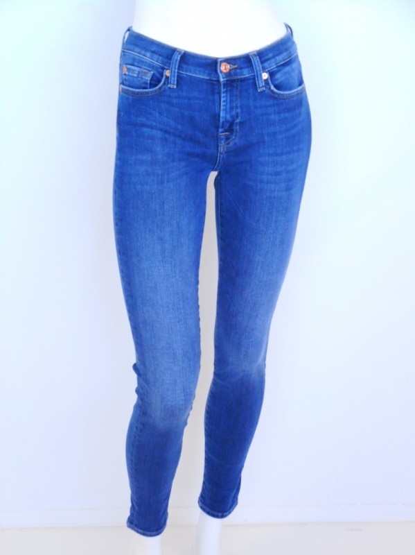 For all mankind Skinny slim illusion strass