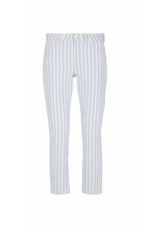 For all mankind Roxanne ankle baby stripes