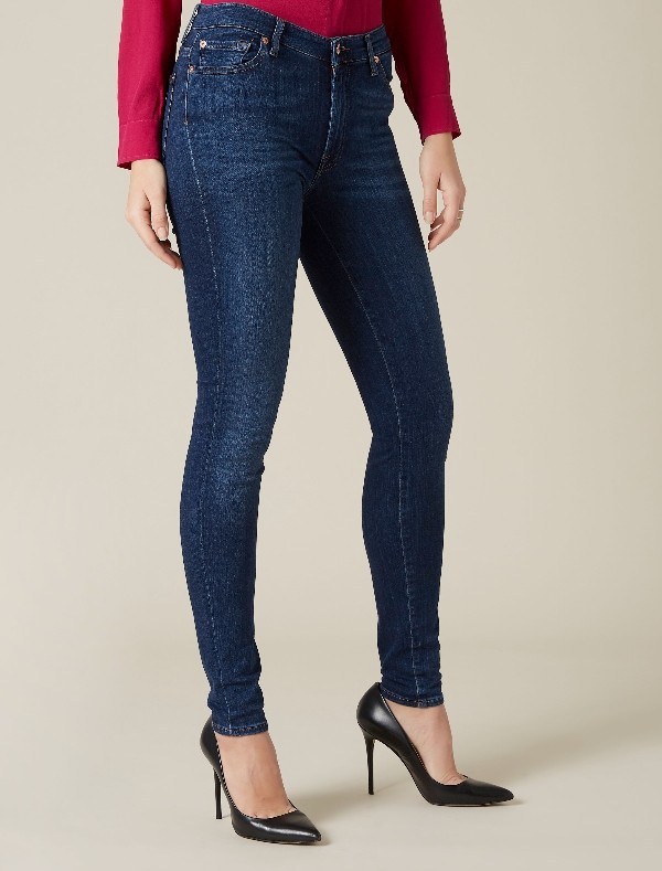 For all mankind Hw skinny slim illusion luxe