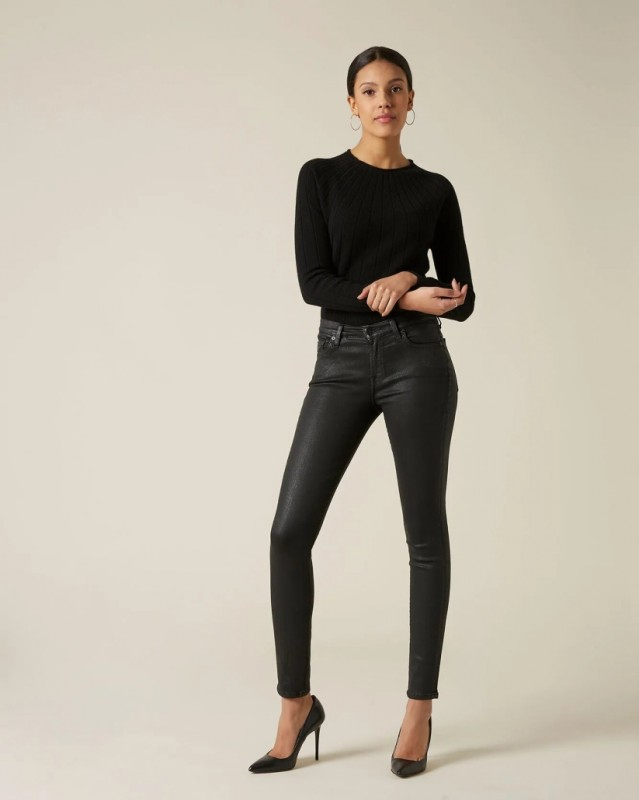 For all mankind Skinny coated slim illusion