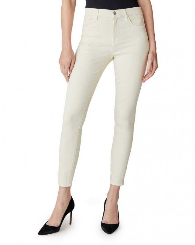 Jbrand High rise cropped skinny