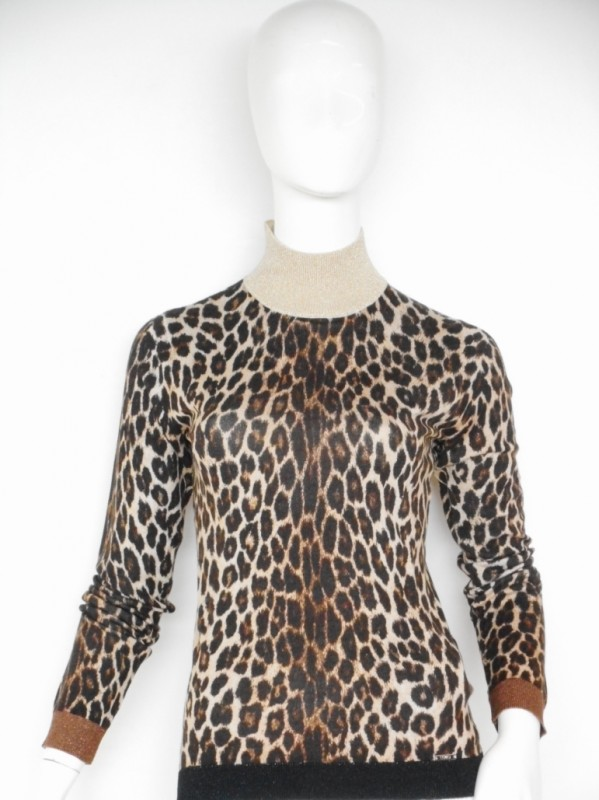 Liu jo jeans white label one Leopard