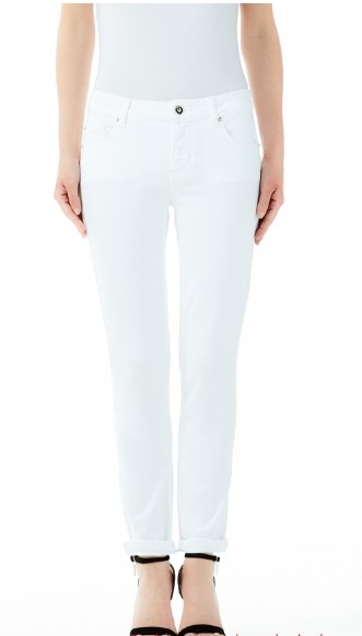 Liu jo jeans white label one Logo